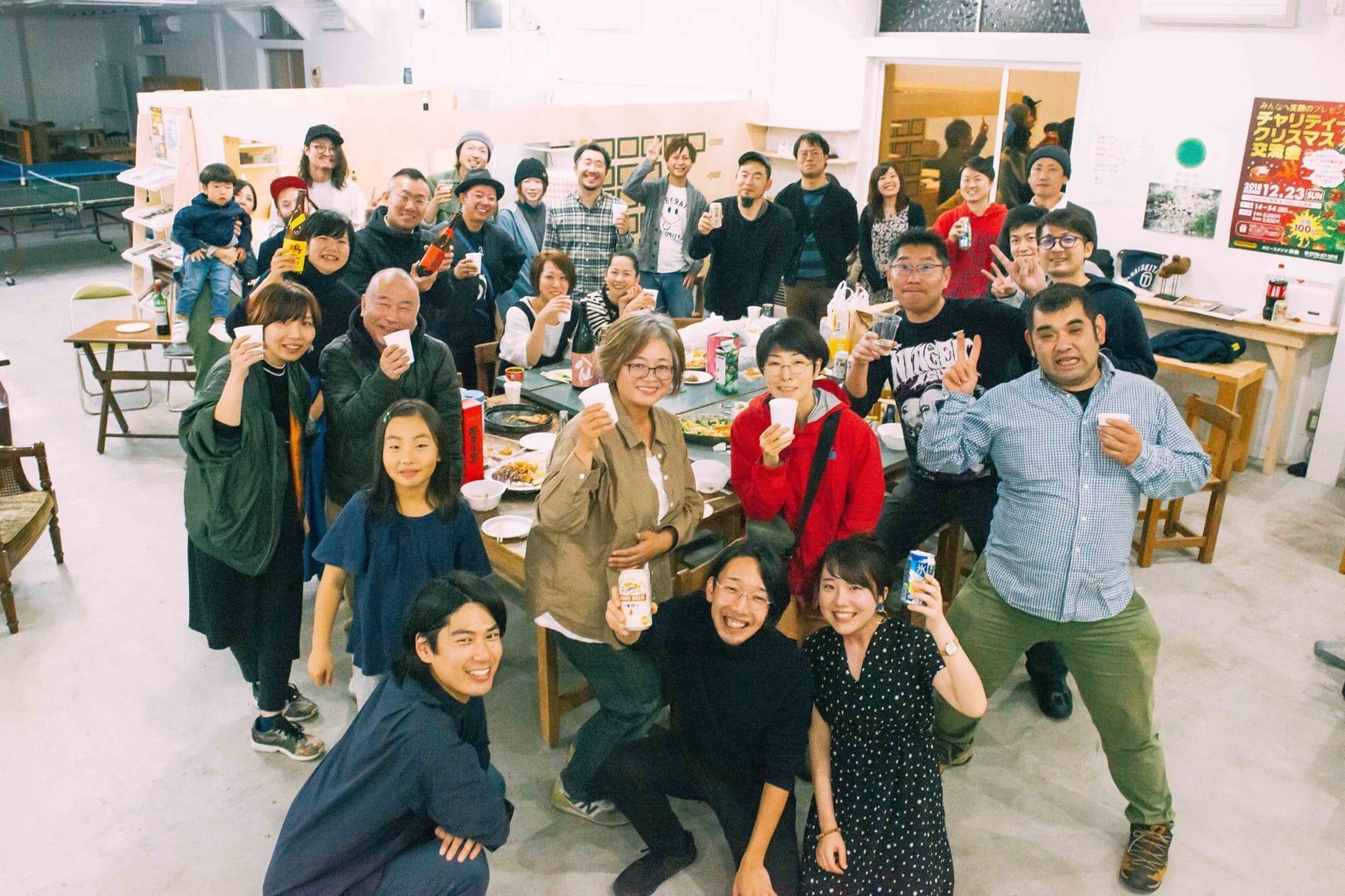 青森県十和田市で「hyphen,送別会&報告会」をしました!